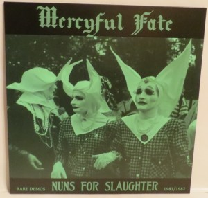 Mercyful Fate Nuns For Slaughter Clear Vinyl LP
