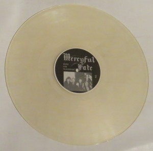 Mercyful Fate Nuns For Slaughter Clear Vinyl LP side b