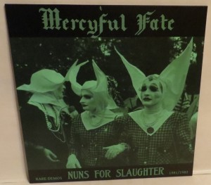Mercyful Fate Nuns For Slaughter White Vinyl LP