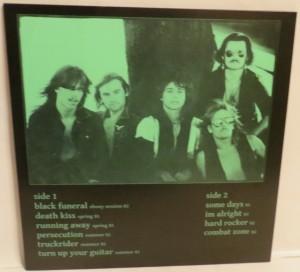 Mercyful Fate Nuns For Slaughter White Vinyl LP back