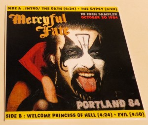 Mercyful Fate Portland 84 10 Inch Acetate
