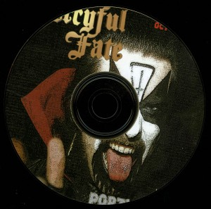 Mercyful Fate Portland 84 10 Inch Acetate cd-r