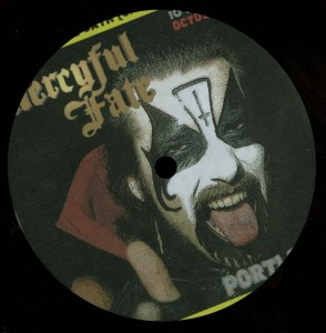 Mercyful Fate Portland 84 10 Inch Acetate label side a