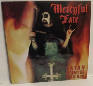 Mercyful Fate Satan Is Better Than God Picture Disc LP