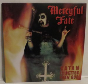 Mercyful Fate Satan Is Better Than God White Vinyl Red Splatter LP