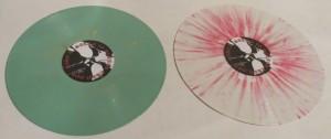 Mercyful Fate Satan Is Better Than God White Vinyl Red Splatter LP side a