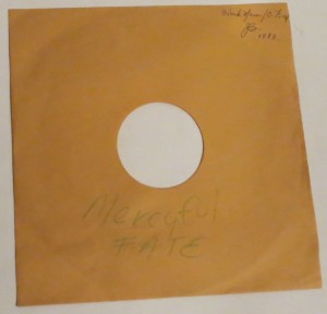 Mercyful Fate, Sherry Kean - Evil  Sever The Ties 10'' Acetate