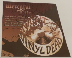Mercyful Fate The Bell Witch Etched Vinyl LP insert