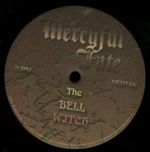 Mercyful Fate The Bell Witch Etched Vinyl LP label side a