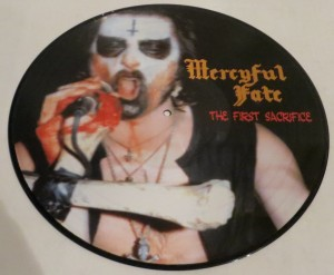 Mercyful Fate The First Sacrifice Picture Disc LP