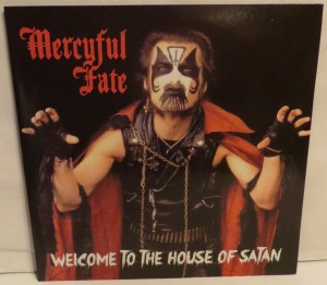 Mercyful Fate Welcome to The House Of Satan White Vinyl LP