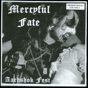 Mercyful Fate Aardshok Fest White Vinyl