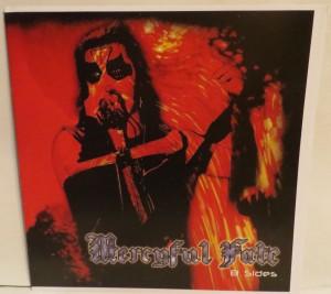 Mercyful Fate B Sides Test Pressing lp