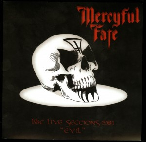 Mercyful Fate BBC Live Sessions 1981 Evil flexi disc