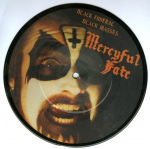Mercyful Fate Black Funeral Black Masses picture disc bootleg