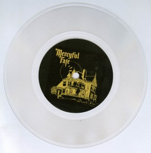 Mercyful Fate Death Kiss flexi disc 7 inch side a