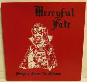 Mercyful Fate Denying Christ In Holland Test Pressing