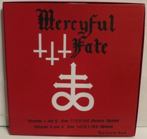 Mercyful Fate Denying Christ In Holland Test Pressing back