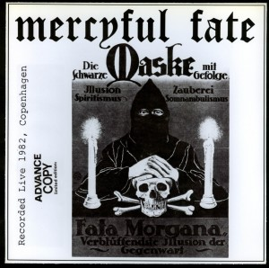 Mercyful Fate Die Schwarze Maske clear red 7''