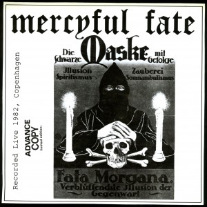 Mercyful Fate Die Schwarze Maske dark grey marbled
