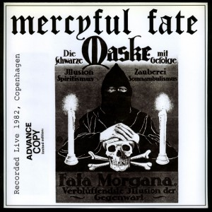 Mercyful Fate Die Schwarze Maske light grey marbled