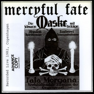Mercyful Fate Die Schwarze Maske red fades to brown