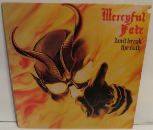 Mercyful Fate Don't Break The Oath Korea Promo LP