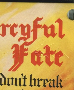 Mercyful Fate Don't Break The Oath Korea Promo LP stamp