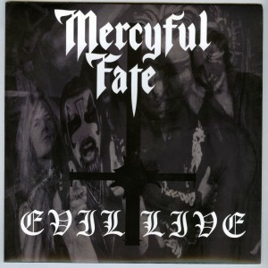 Mercyful Fate Evil Live flexi disc