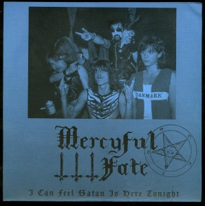 Mercyful Fate I Can Feel Satan Is Here Tonight blue sleeve