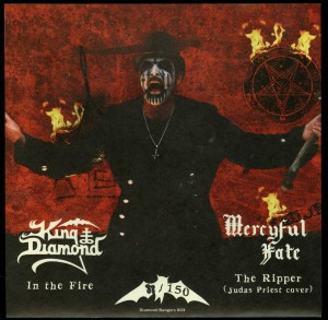 Mercyful Fate-King Diamond All Hail The King back