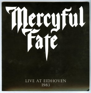 Mercyful Fate Live Eidhoven 1983 flexi disc