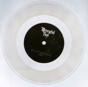 Mercyful Fate Live Eidhoven 1983 flexi disc side a