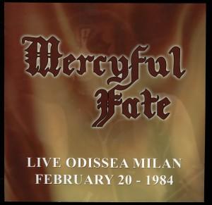 Mercyful Fate Live Odissea Milan
