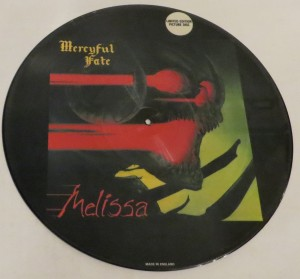 Mercyful Fate Melissa Megaforce Unnumbered Picture Disc