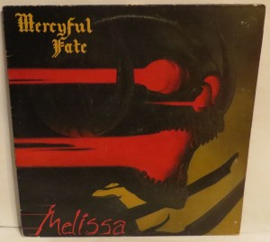 Mercyful Fate Melissa Music For Nations Mispress A-side on both sides lp