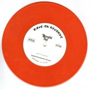 Mercyful Fate Shadow Night Red Vinyl side b
