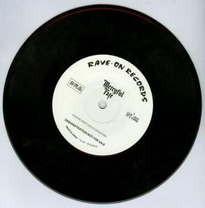 Mercyful Fate Shadow Night black vinyl side 1