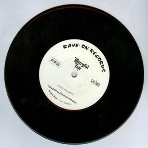 Mercyful Fate Shadow Night black vinyl side b