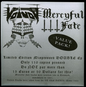 Mercyful Fate-Voivod Value Pack!