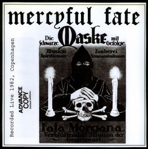 Mercyful Fate _Die Schwarze Maske black with speckles