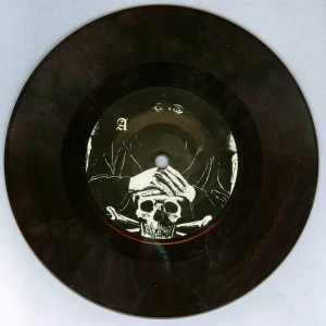 Mercyful Fate _Die Schwarze Maske brown 7'' side a