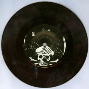 Mercyful Fate _Die Schwarze Maske brown 7'' side b