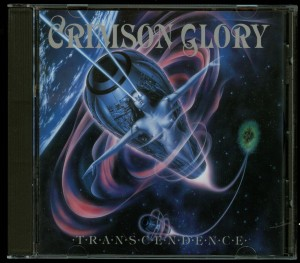 Crimson Glory Transcendence matrix SONOPRESS C-5104 RR95082 05