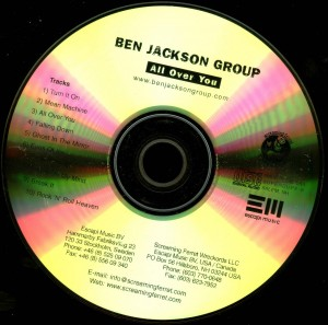 Jackson, Ben All Over You promo