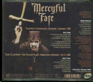 Mercyful Fate Curse Of The Pharaohs back