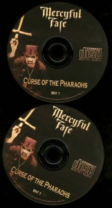 Mercyful Fate Curse Of The Pharaohs discs