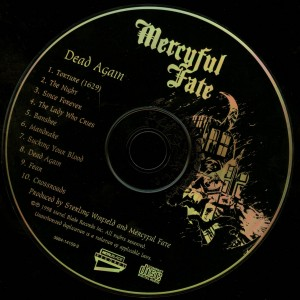 Mercyful Fate Dead Again disc