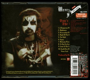 Mercyful Fate Don't Break The Oath Japan 2008 press back