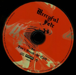 Mercyful Fate Don't Break The Oath Japan 2008 press disc